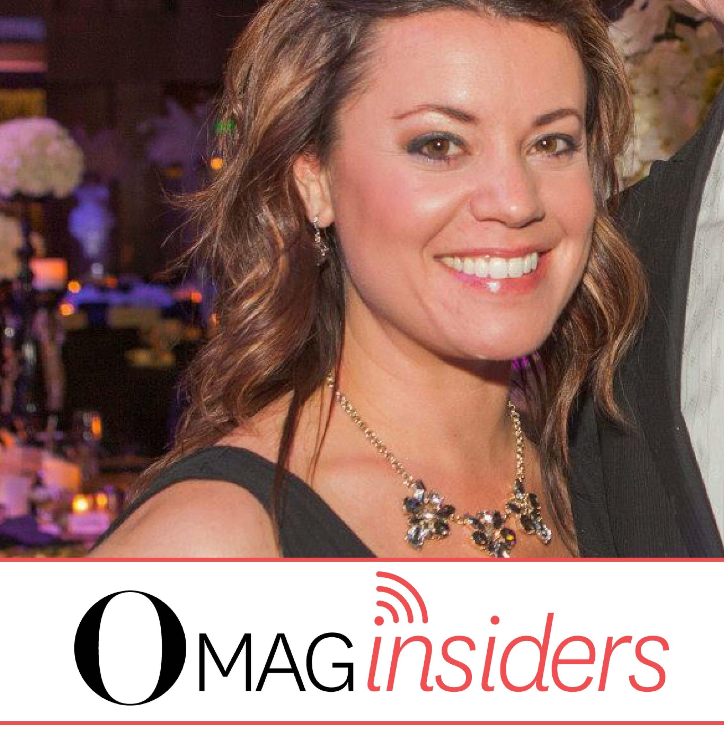 Maria Thomas, inaugural O Mag Insider