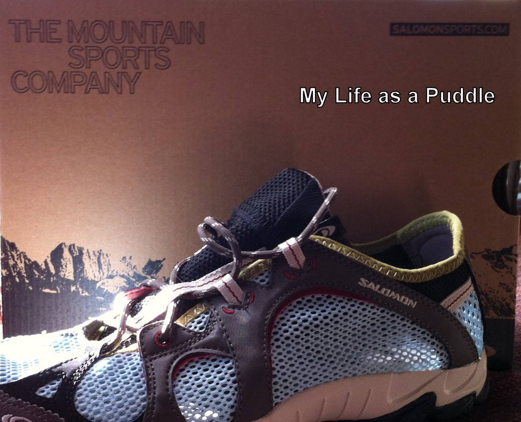 Salomon Mesh Shoes for sweaty feet