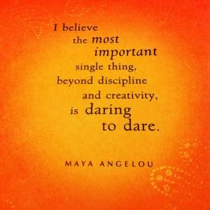 Maya Angelou Life Mosaic card