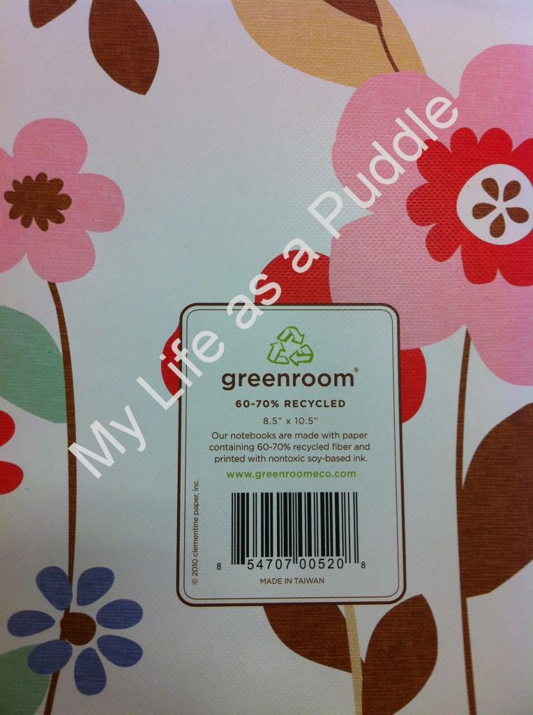 Greenroom Spiral Notebook