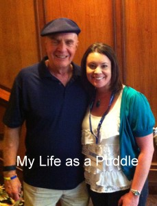 Puddle and Dr. Wayne Dyer