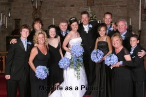 Sandy and Danny were both in my wedding. I wouldn't have done it without them! May 28, 2005