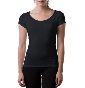 Women's Black Thompson Tee
