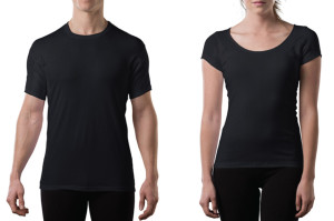 Thompson Tee in Black for Men & Women