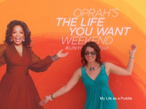 Entering O Town at Oprah's The Life You Want Weekend