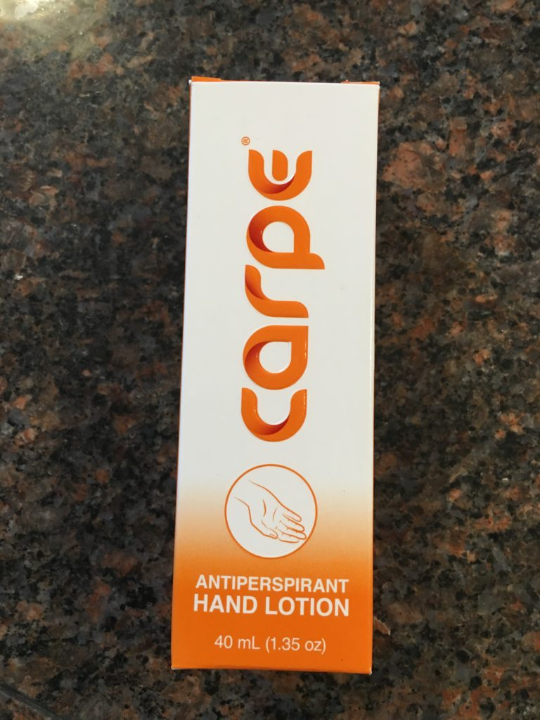 Carpe Lotion tube