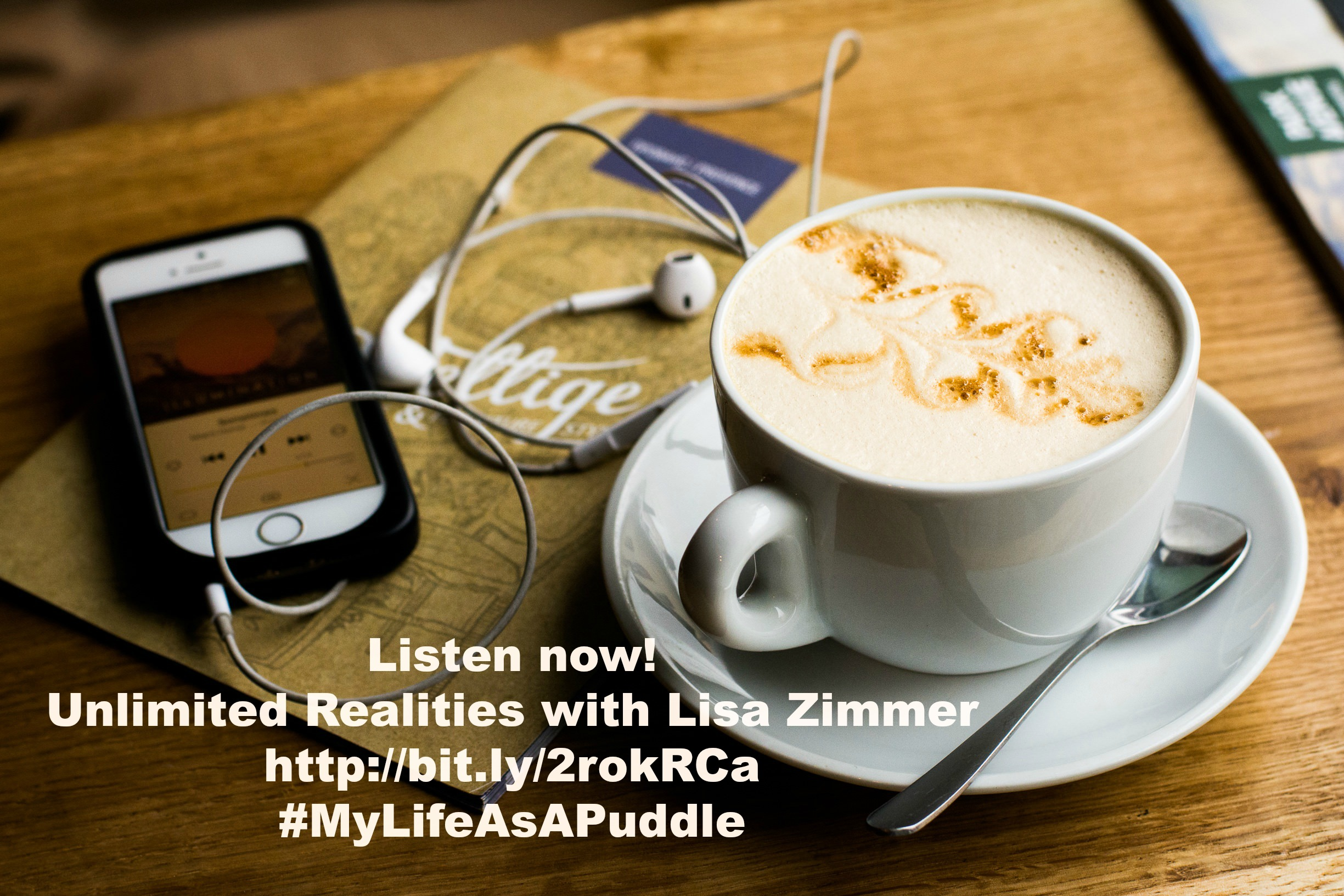My Life as a Puddle on Unlimited Realities with Lisa Zimmer