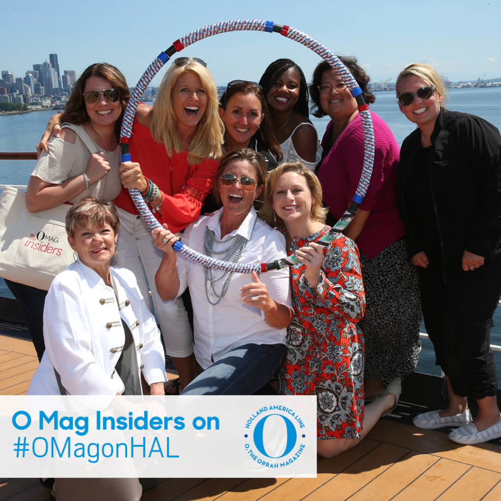 O Mag Insiders on Holland America Line