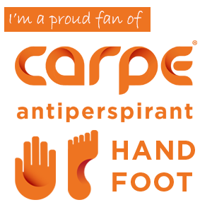 Carpe Lotion for Hyperhidrosis