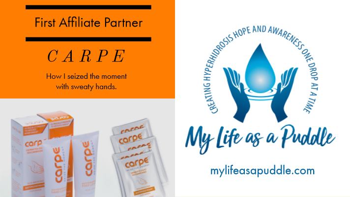 Carpe Lotion and My Life as a Puddle partnership