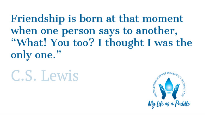 Friendship quote by C.S. Lewis