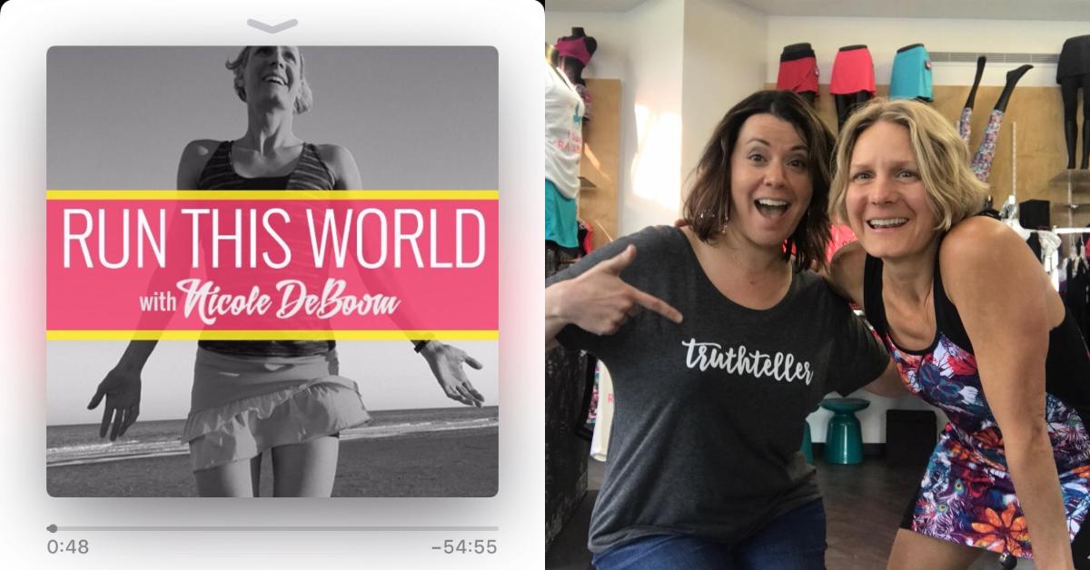 Maria Thomas on Run This World Podcast with Nicole DeBoom
