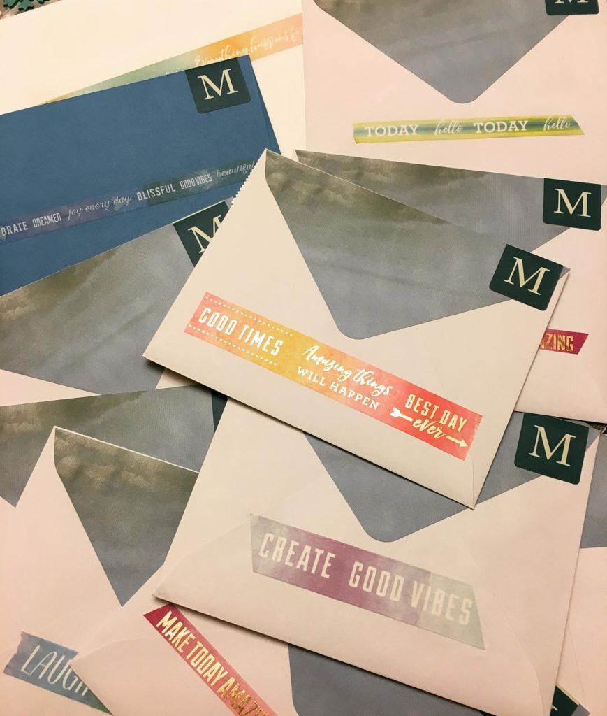 Loveland Valentine Remailing Program envelopes