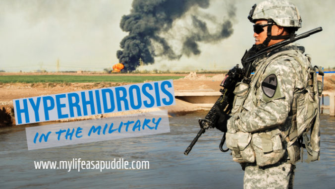 Hyperhidrosis in the Military
